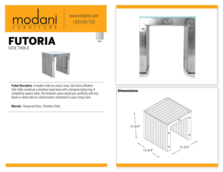 Futoria Modern Side Table Modern Side Table Side Table Modern Table [ 2318 x 3000 Pixel ]