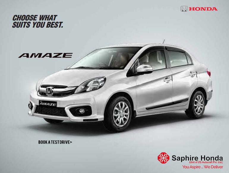 The Honda Amaze. Choose what suits you best. Book a test drive Call: 8088651651 #Honda #HondaAmaze #HondaCar