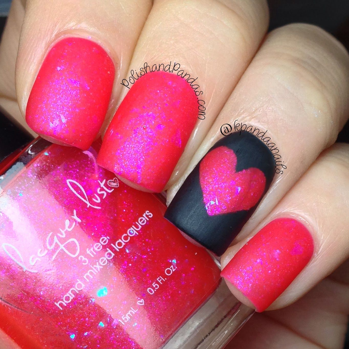 "Lacquer Lust ""Red Light Special"" matte http://www.polishandpandas.com/2014/02/lacquer-lust-swatches-review.html#more"