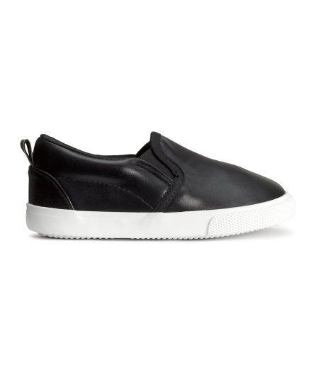 H&M baby boy slip on shoes | H&m shoes, H&m baby, Baby ...
