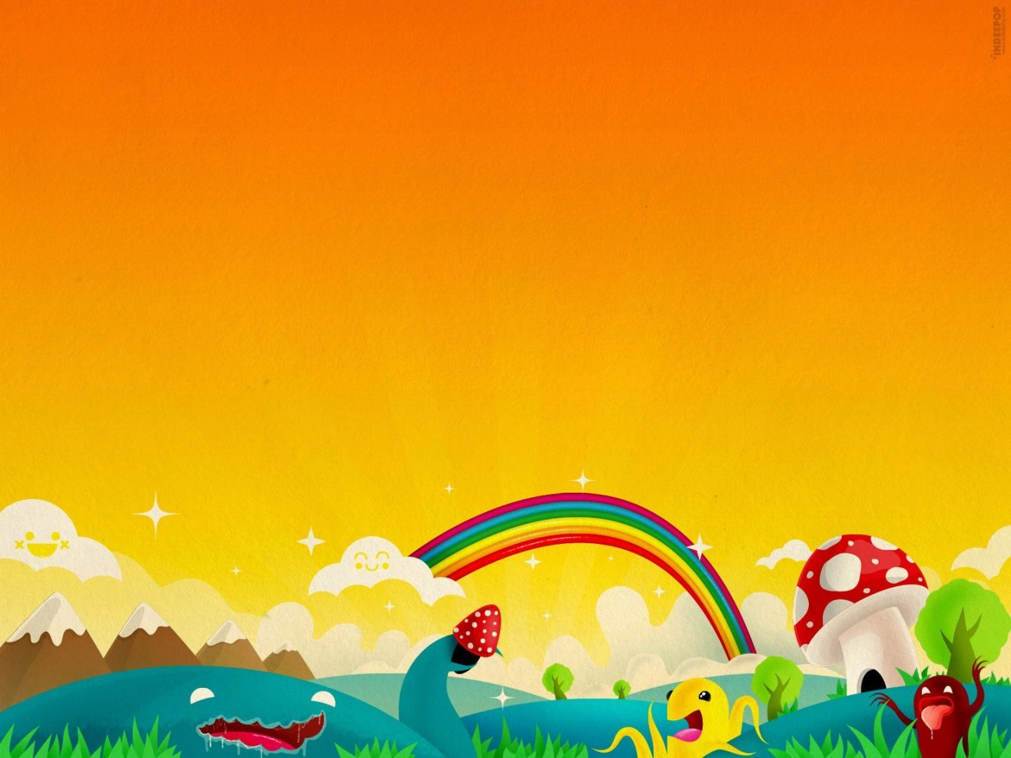 Colorful Cartoon Wallpapers for kids Backgrounds in HD For