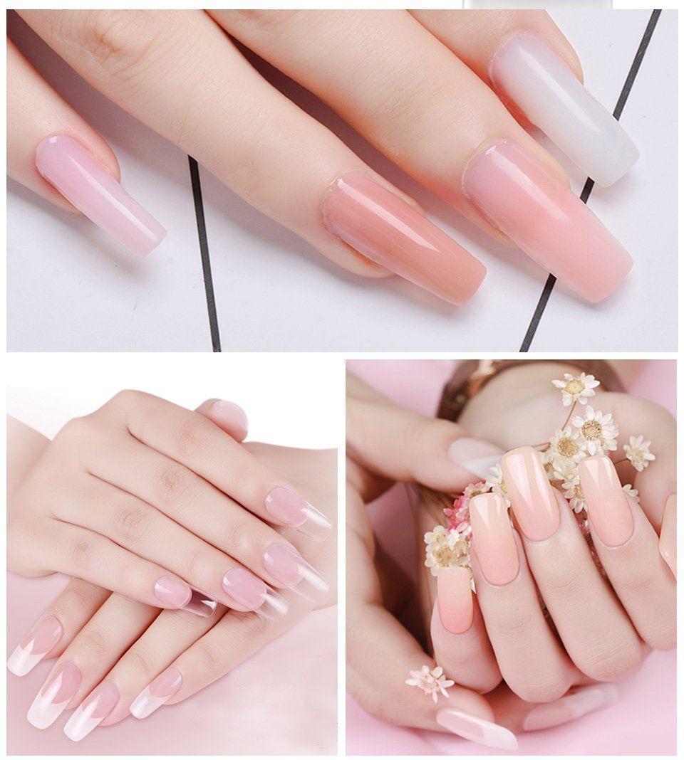 Polygel Nail Builder nail trends,nail design,nail ideas