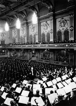 Konzert  Berl.Philarmoniker in der alten Philarmonie in der Bernburgerstrasse Berlin-Kreuzberg