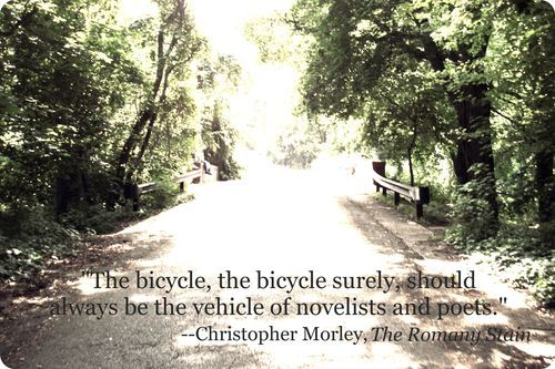 Interesting  #bicycle  #quote