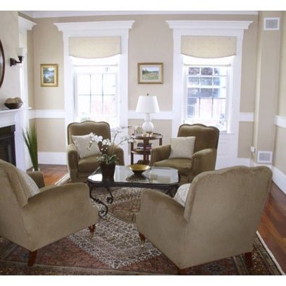 decorating living room with chairs only | Living Room Chair Rail ...