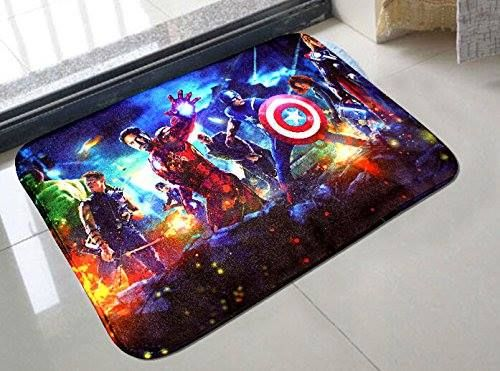The Avengers Bright Door Mat Kitchen Bathroom Mat Carpet Bath Mats - Bright bath mat for bathroom decorating ideas