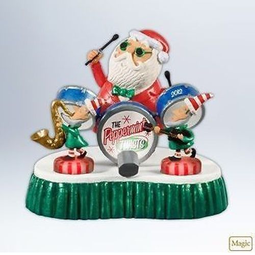 "Hallmark /""Our Visit With Santa/"" Photo Holder Ornament 2012"