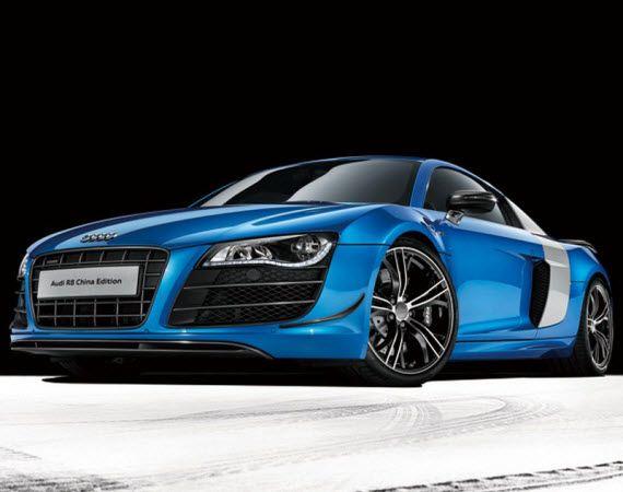 Audi R8 Blue China Edition Audi R8 Blue Audi R8 Audi