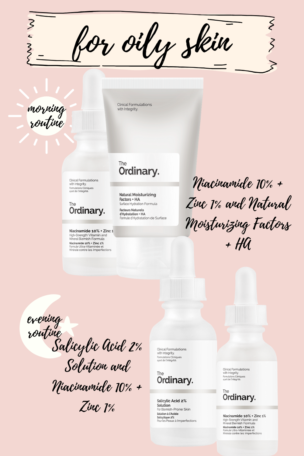 Acneskincareproduct In 2020 Oily Skin Routine Oily Skin Care The Ordinary Skincare Routine