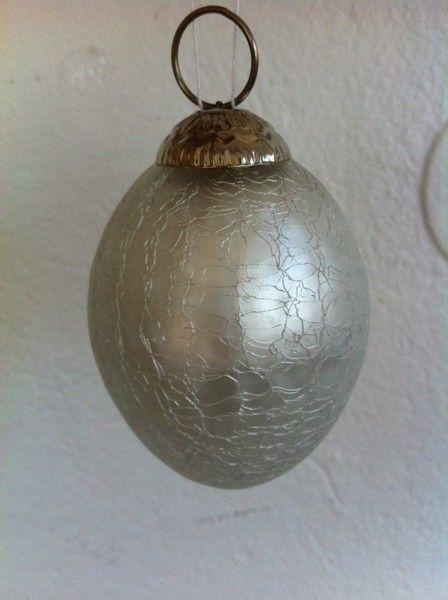 Påsk ägg i gammaldags silver. www.home-design.se #inredning #påsk #påskägg #handgjordapåskägg
