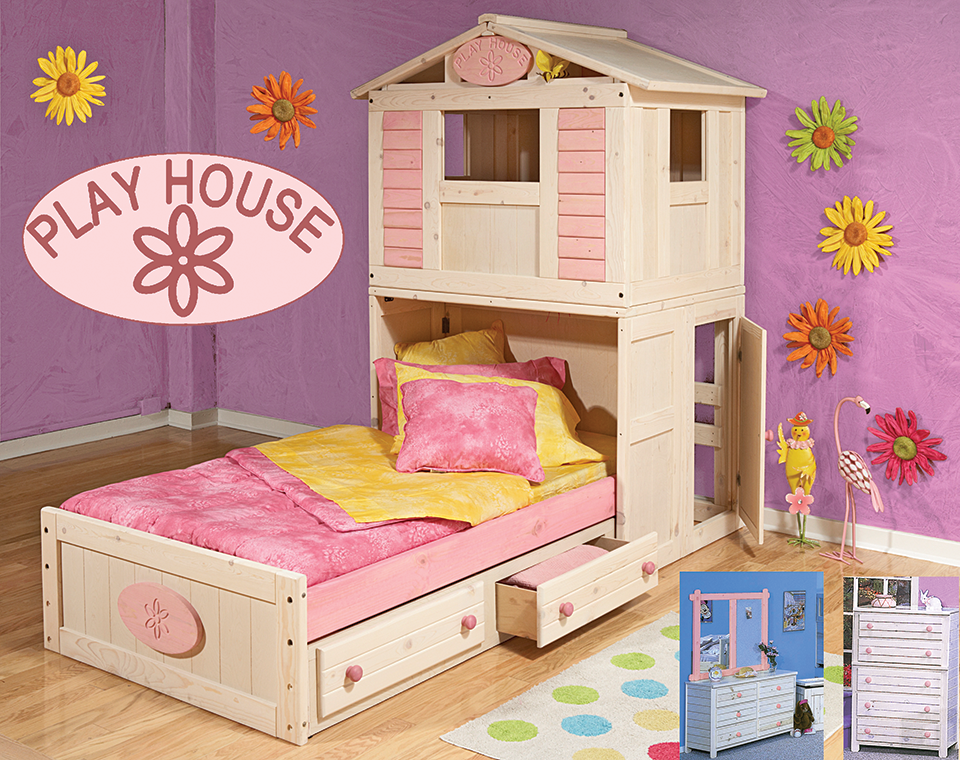Trendwood Collection Playhouse Collection For Girls Playhouse