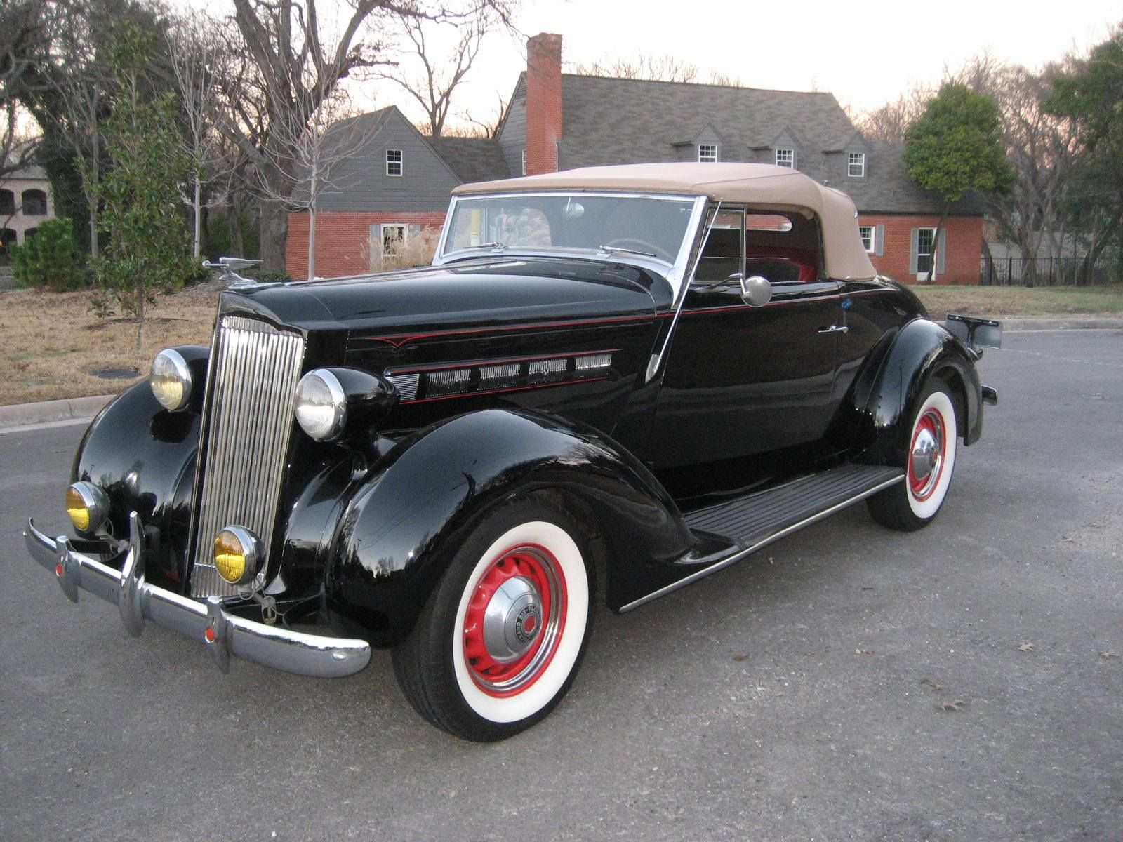1937 Packard 115-C Convertible Coupe | CARS | Pinterest ...