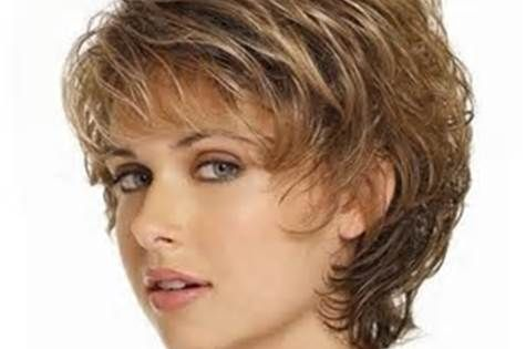 short haircuts for women over 50 with thick wavy hair