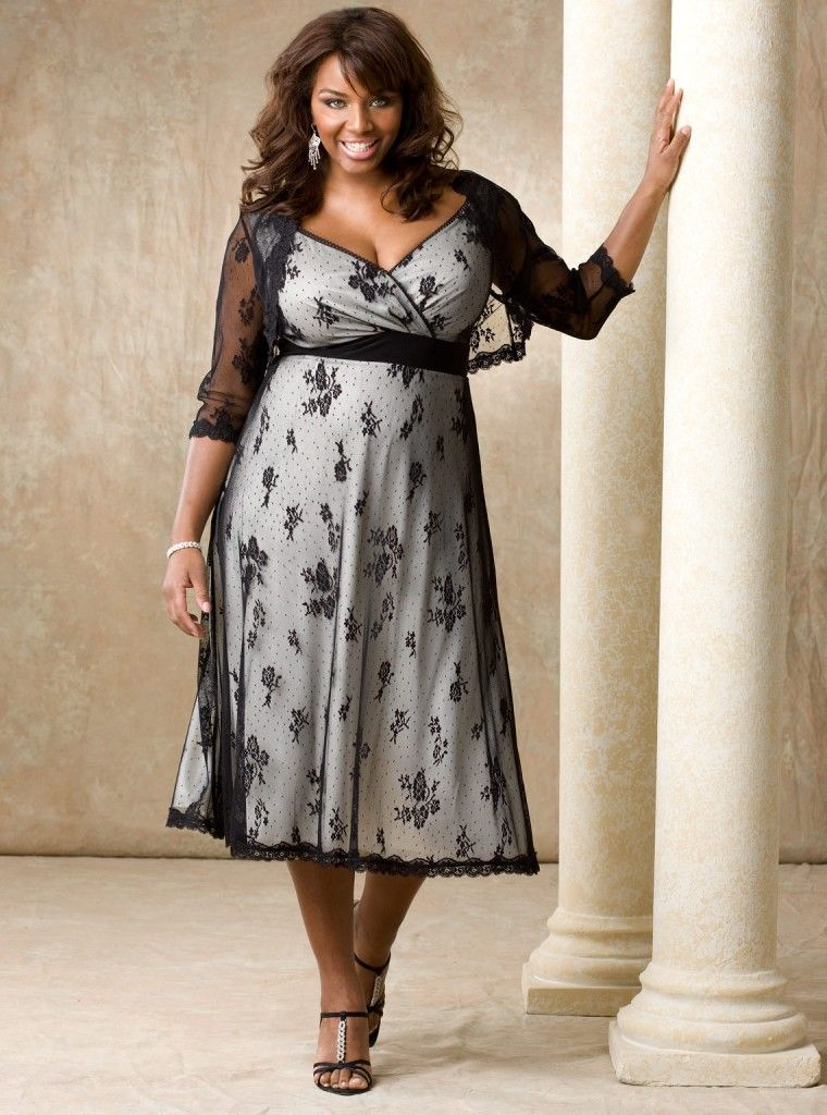 outfits+for+plus+size+women | Plus size lace dress | Plus size ...