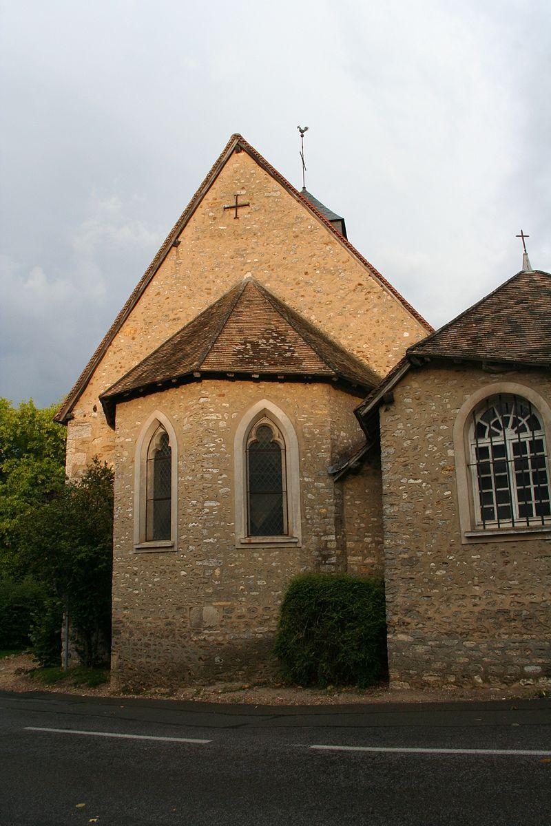 Eglise orthodoxe Notre Dame de La Chapelle-Réanville. Normandie