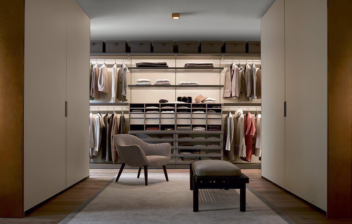 Poliform Ubik Inloopkast : Ubik moie coatroom ○ 衣帽间 walk in closet、bedroom
