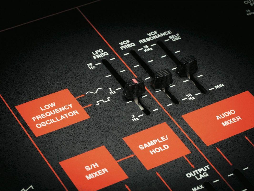 Rarität: Der S/H-Generator ermöglicht sehr komplexe Zufalls-Modulationen