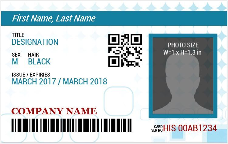 15 employee photo id badges templates id card template