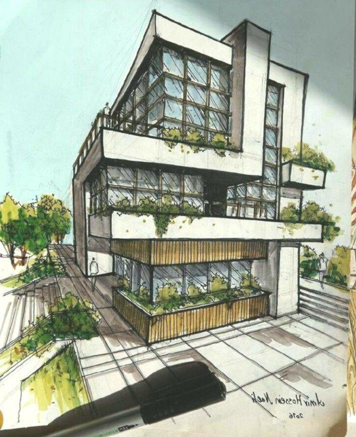 die Architektur #architektonischepräsentation