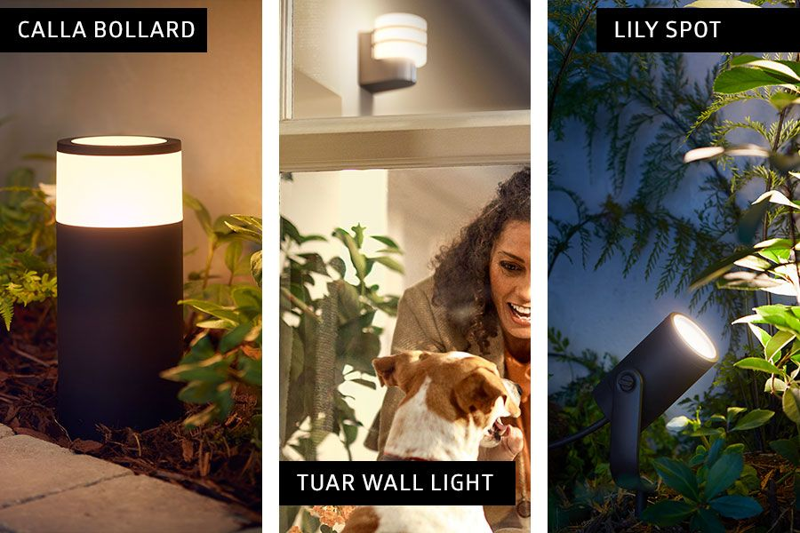 check out f3444 cc120 Philips Hue outdoor lights | Philips Hue Lighting Ideas in ...