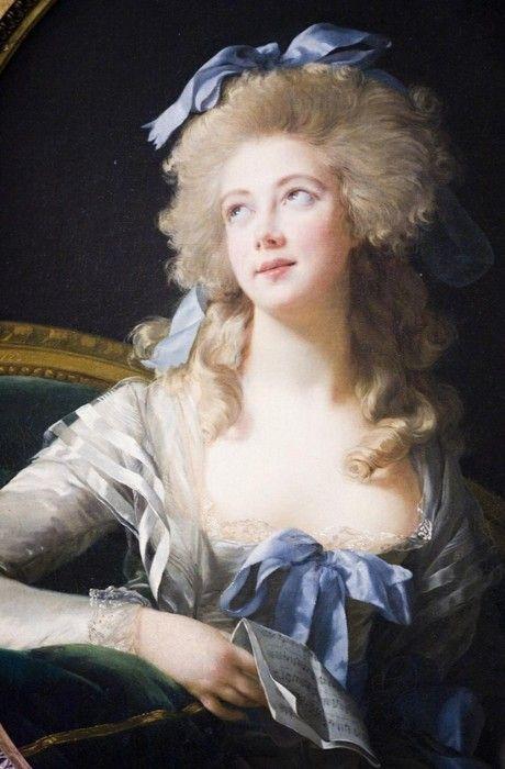 Bien-aimé Portrait of Madame Grand by Louise Elisabeth Vigee Le Brun  CR11