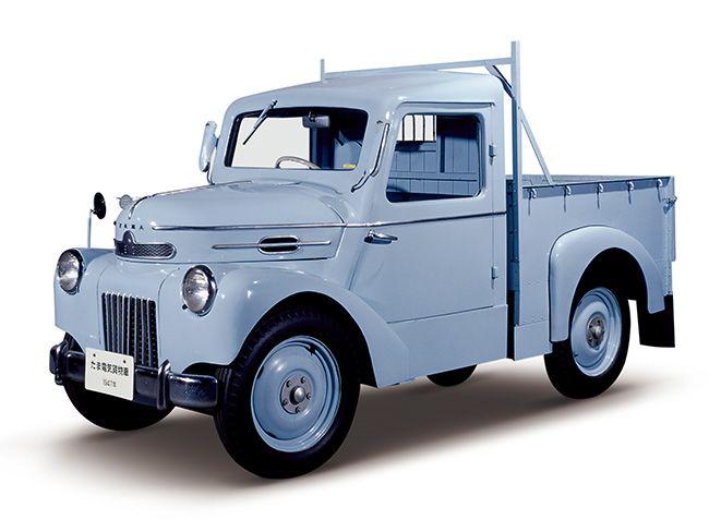 Nissan Tama EV: el carro eléctrico japonés de 1950 | クラシック ...