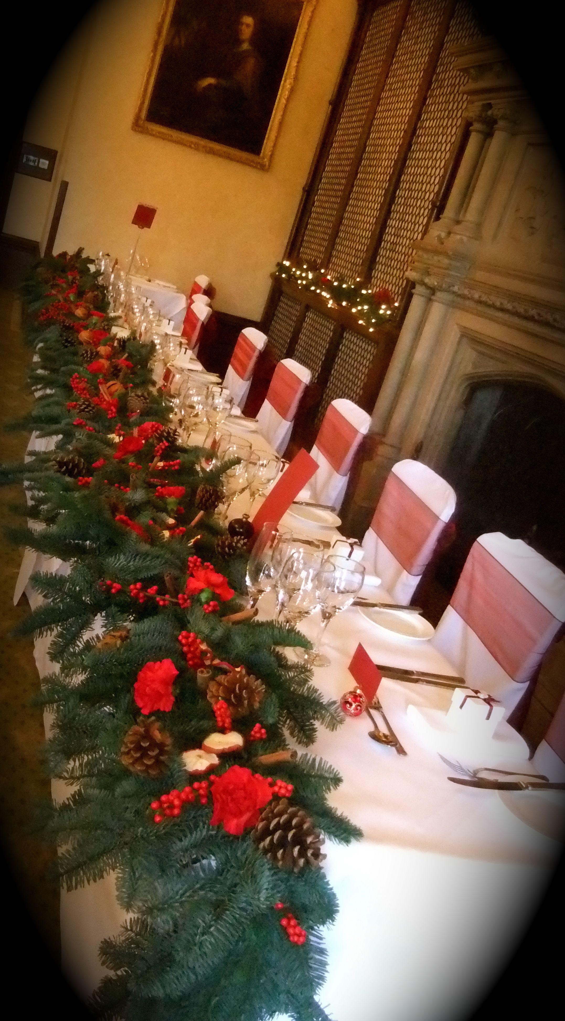 Christmas Top table garland