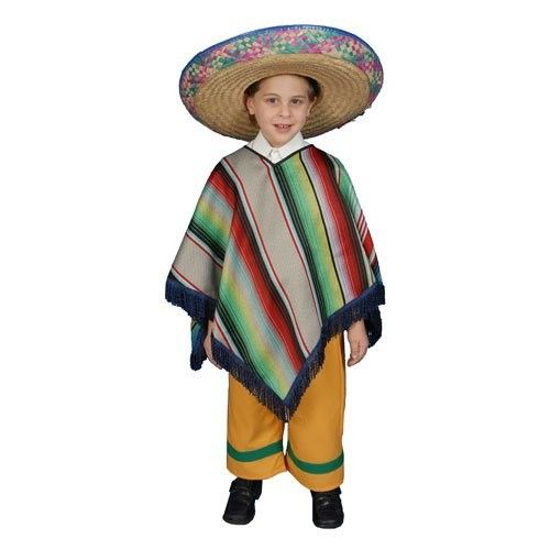Fantasia Infantil Mexicano Festa Halloween Carnaval  6f02b464532