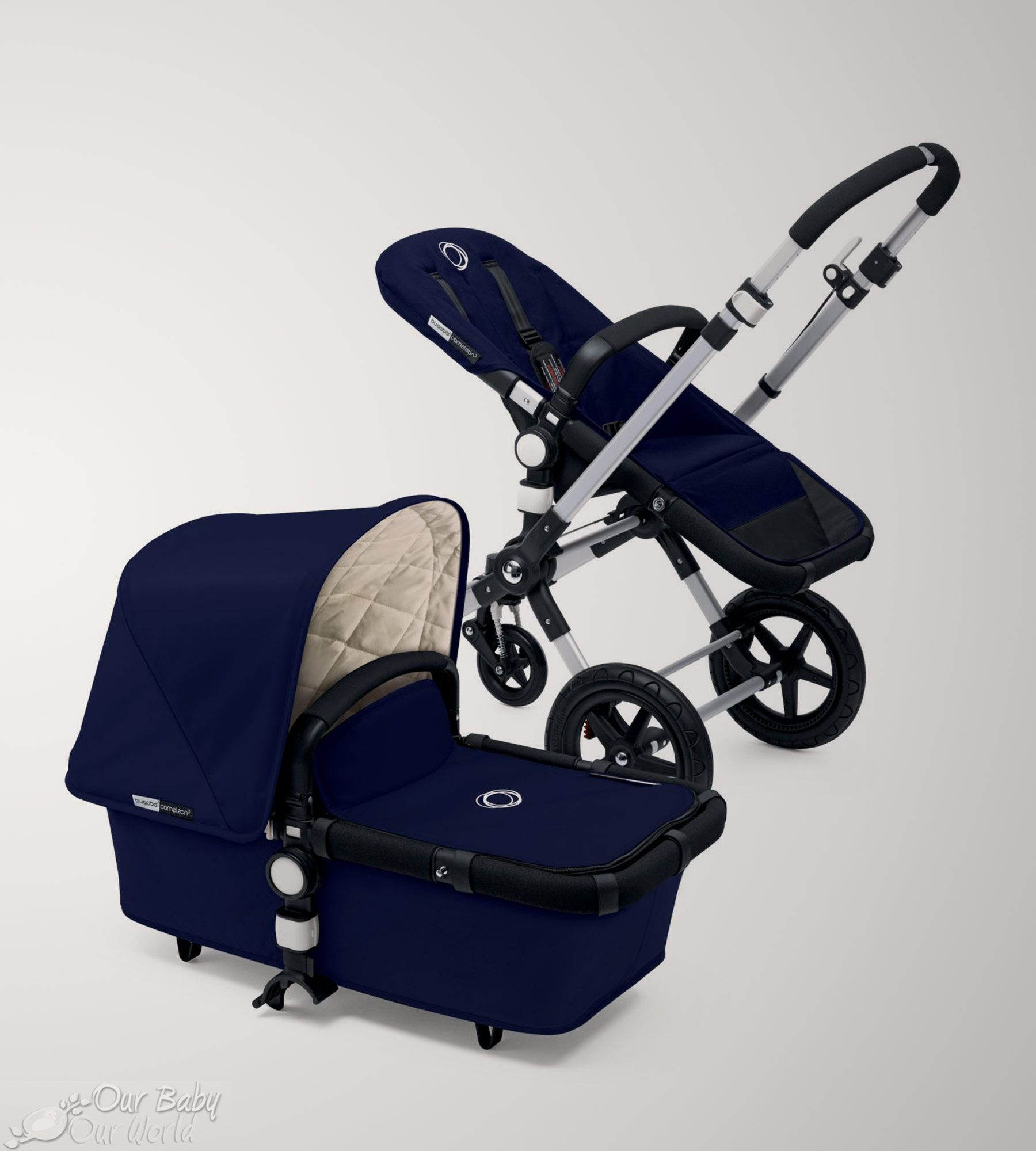 Bugaboo Cameleon³ Classic Collection Navy. For use from