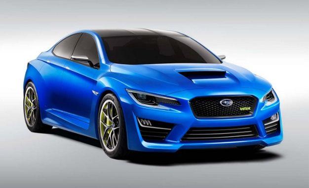 Image Leak! Again! #Subaru's Tasty #WRX #Concept Spills Forth [2013 New York Auto Show]