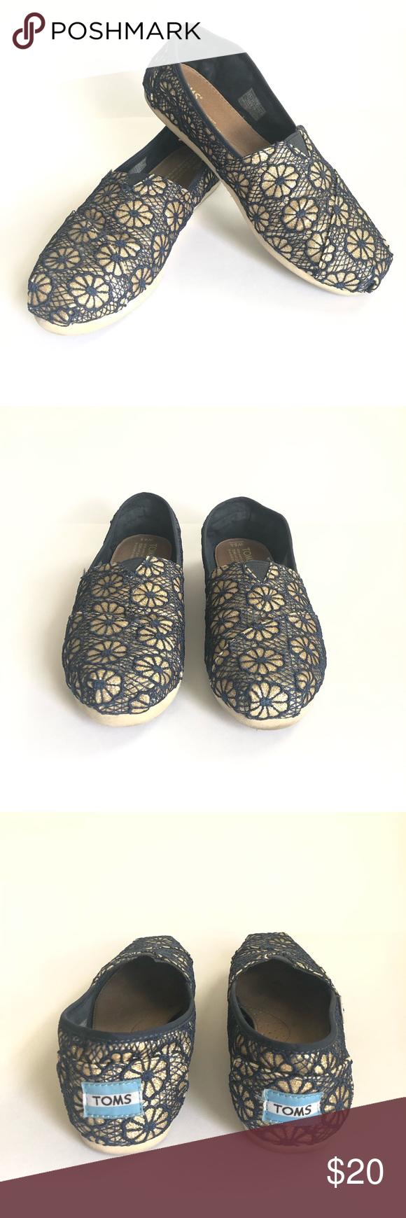 eefd33c88a00 Toms Crochet Glitter Slip On Alpargata Shoes Toms Women s Classic Crochet  Slip On Alpargata Shoe •