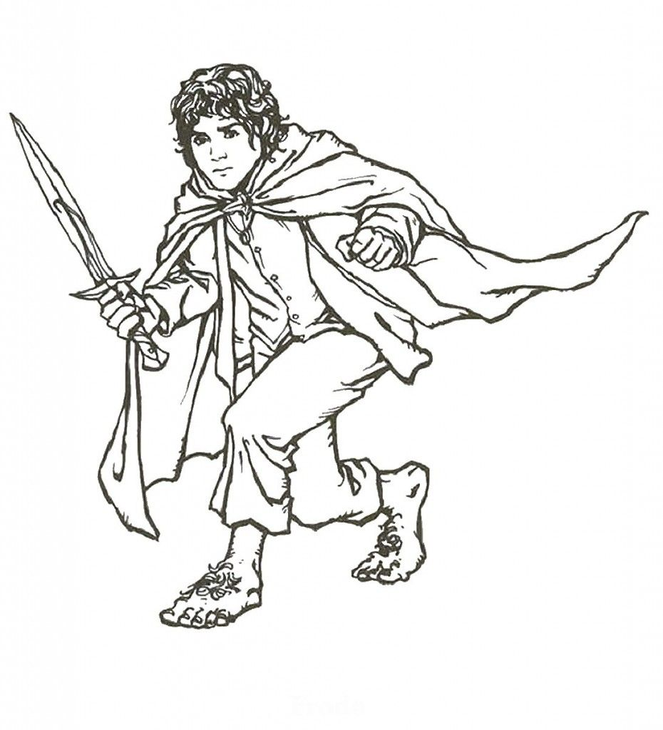 Lord Of The Rings Coloring Pages Lord Of The Rings Coloring Books Colouring Pages