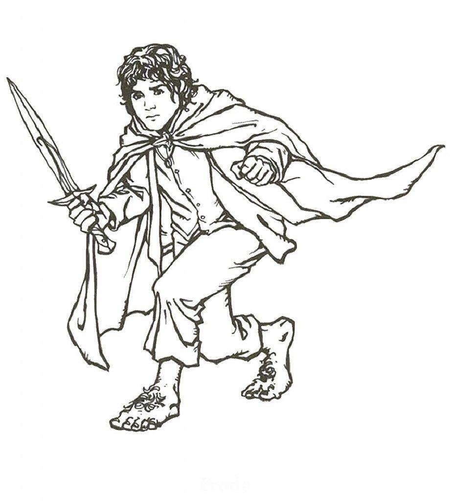 Perfecto Hobbit Enano Para Colorear Imágenes - Ideas Para Colorear ...
