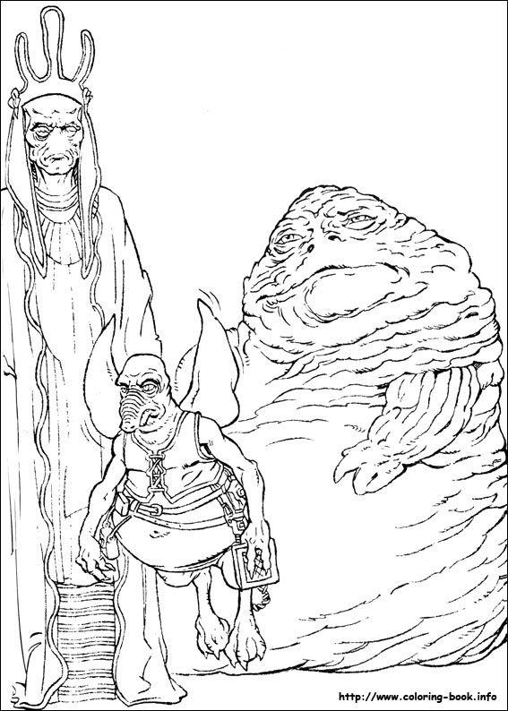 star wars coloring picture - Star Wars Pictures To Colour In