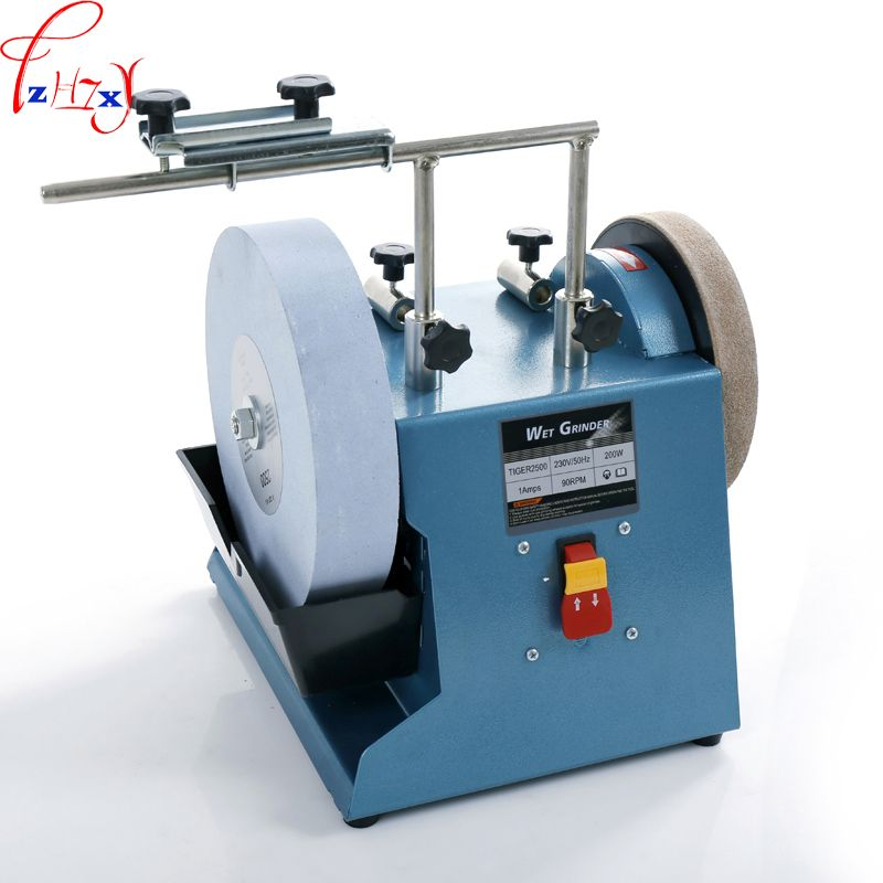 10 Inch Electric Water Cooled Grinder Machine 220 Grindstone Grinding Machine Grinding Knife Scissors 220 230v Bench Grinder Knife Sharpening Grinding Machine