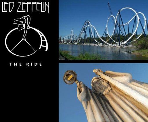 Amusement Attraction Amusement Ride Led Zeppelin The Ride Roller