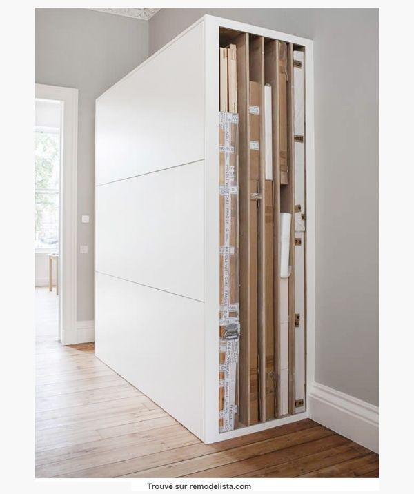 range tableau armoire astuce bricolage amenagement. Black Bedroom Furniture Sets. Home Design Ideas