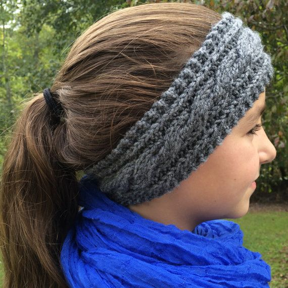 Cable Knit Ear Warmer Cable Knit Headband by ...