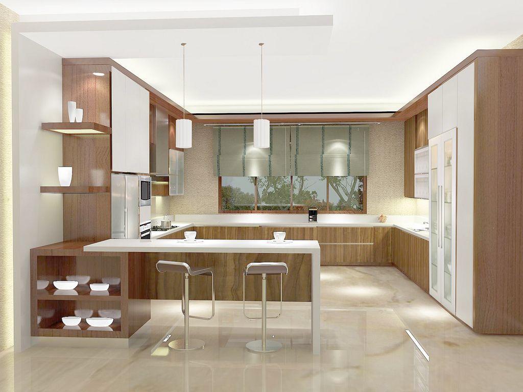 55 Gambar Model Meja Dapur Minimalis  Saat ini desain