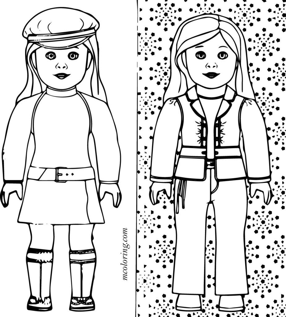 Grab your Fresh Coloring Pages American Girl Free , https