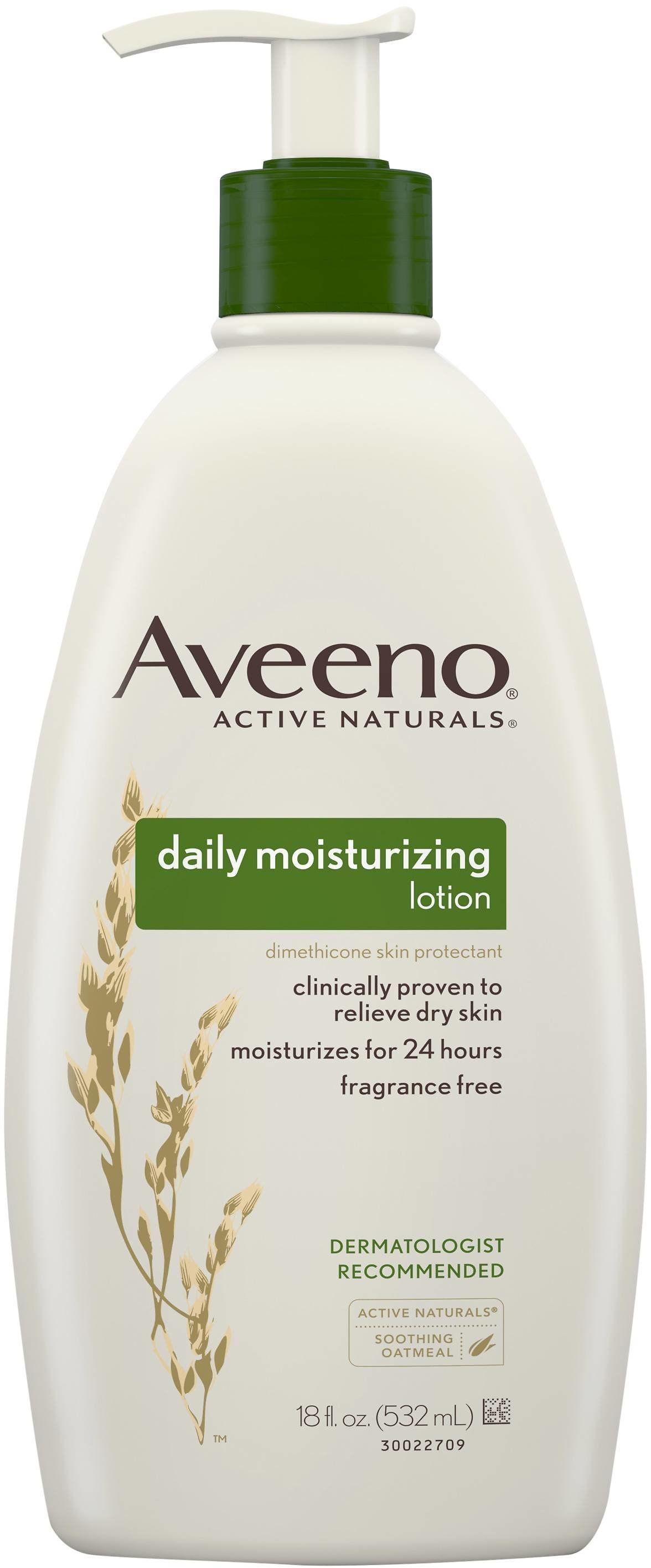 picture about Aveeno Coupon Printable identify 3) Aveeno Day by day Moisturizing Lotion For Dry Pores and skin - 18 Fl Oz