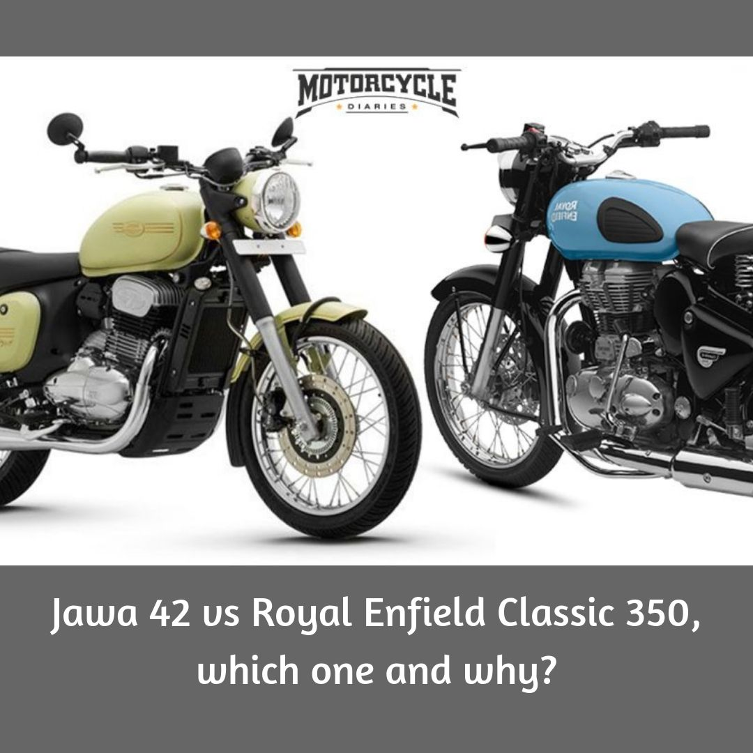 Jawa 42 Vs Royal Enfield Classic 350 Which One And Why Enfield