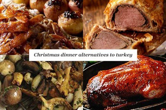 Christmas Dinner Alternatives To Turkey and Christmas Pudding ...