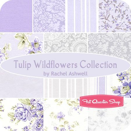 Admirable Tulip Wildflowers Collection Fat Quarter Bundle Rachel Home Interior And Landscaping Ologienasavecom