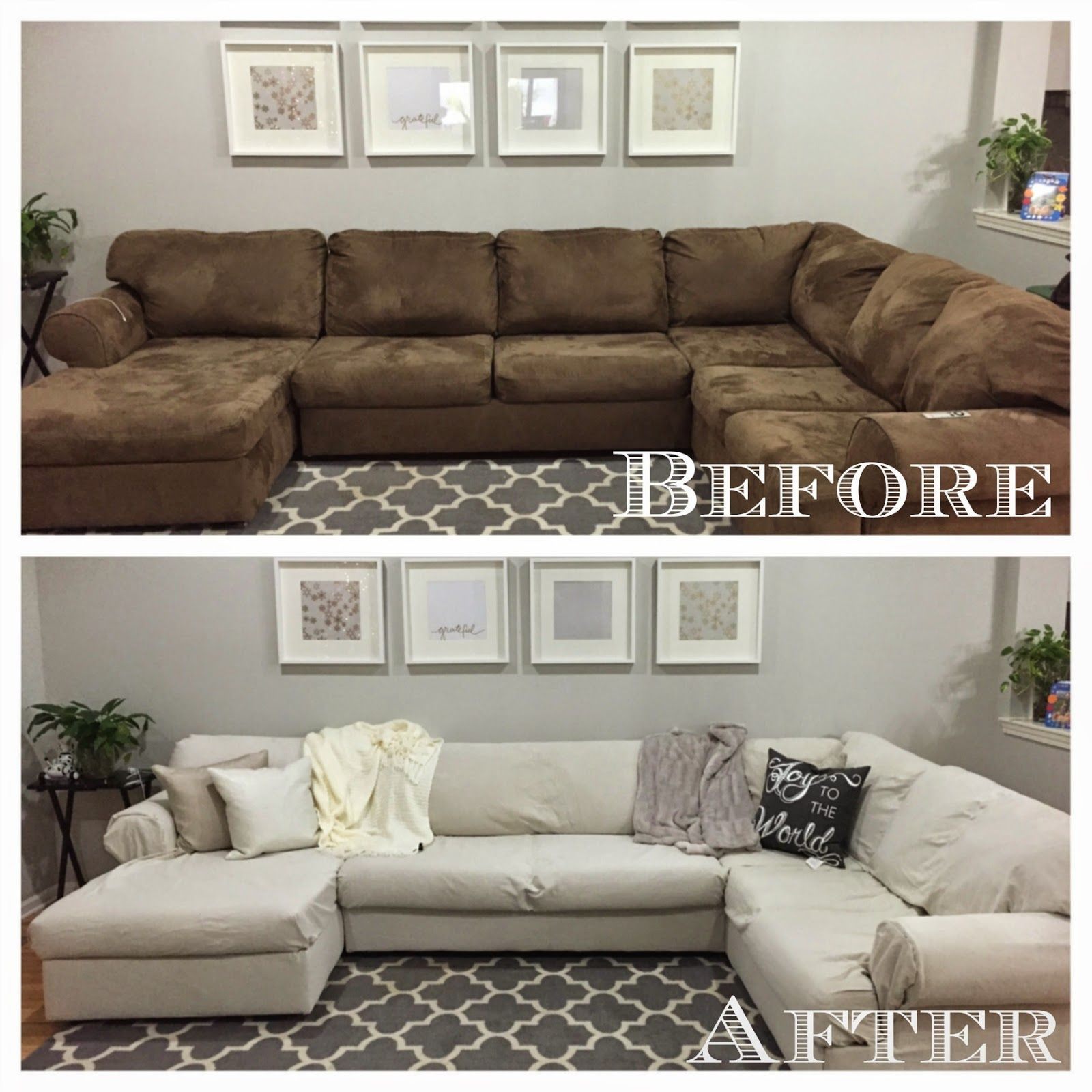 Diy Sectional Sofa Cover
