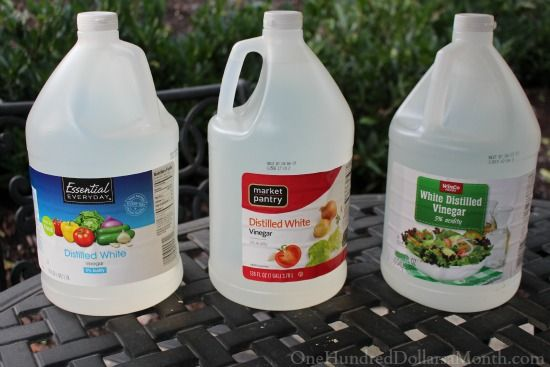 You Might Be a Tightwad If...You Return 2 Bottles of Vinegar Because You Found a Better Price