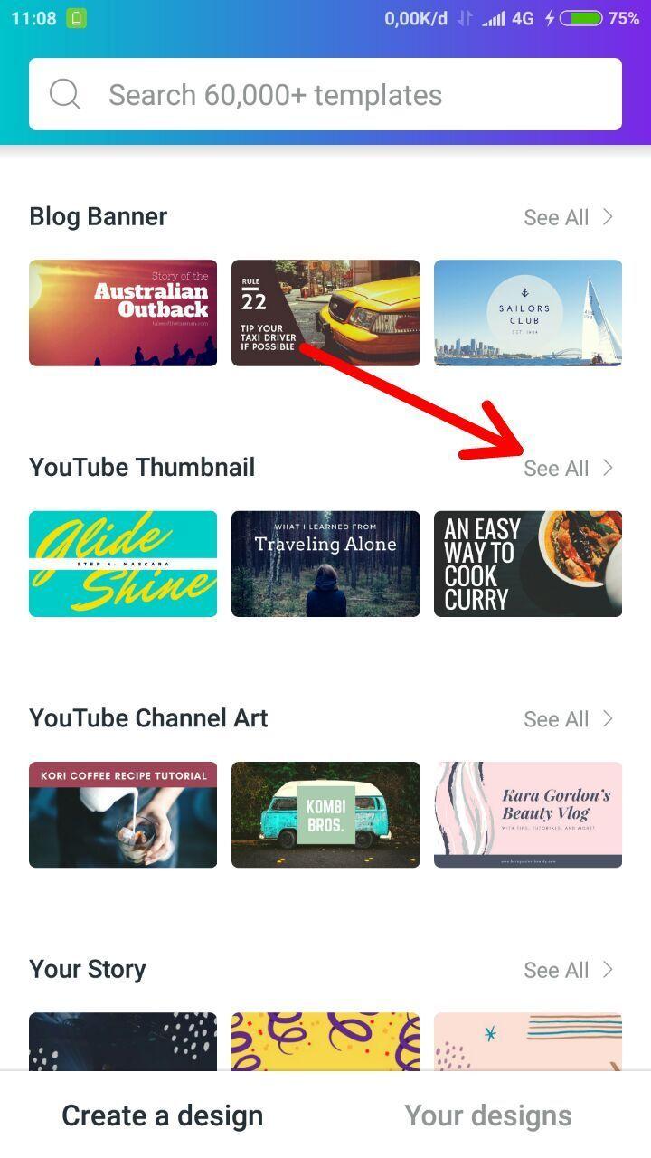 Cara Membuat Thumbnail Video YouTube di Android