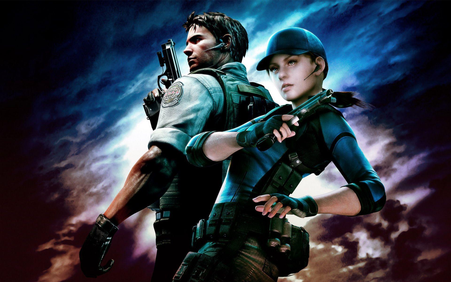 Resident Evil 5 Game Wallpapers Hd Wallpapers Resident Evil