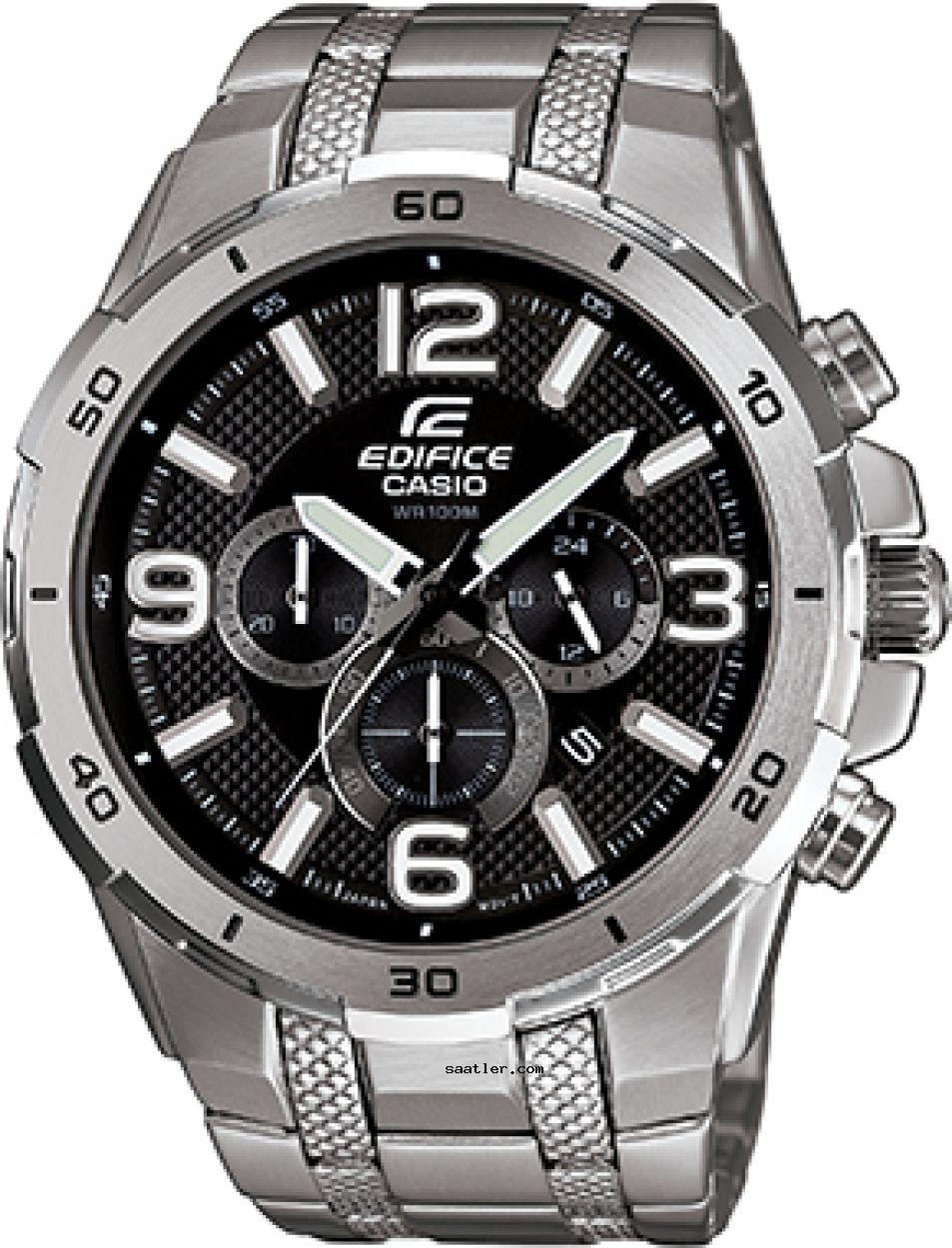 Casio Edifice Efr 538d 1avudf Erkek Kol Saati Siyah Kaslar Saatler Erkek Kol Saatleri