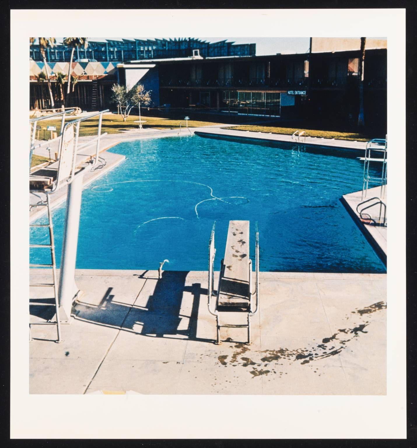 'Pool #5', Edward Ruscha, 1968, Printed 1997